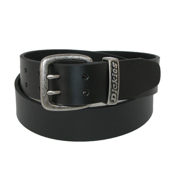 Men's Leather Two Prong Casual Belt