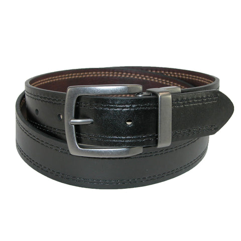 Men's 35mm Reversible Belt with Contrast Stitch