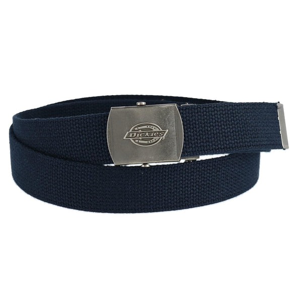 Men's Adjustable Fabric Belt with Military Buckle