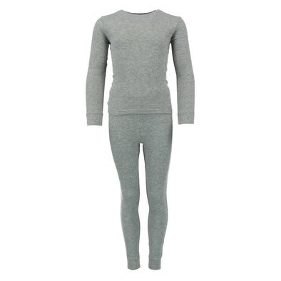 Boy's Waffle Thermal Long Underwear 2-Piece Set