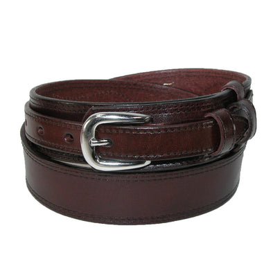 Men's Big & Tall Leather Removable Buckle Ranger Belt