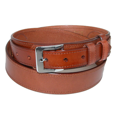 Men's Leather Removable Buckle Ranger Belt