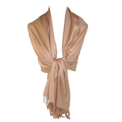 Women's Classic Pashmina Wrap Scarf Shawl (Pack of 2)
