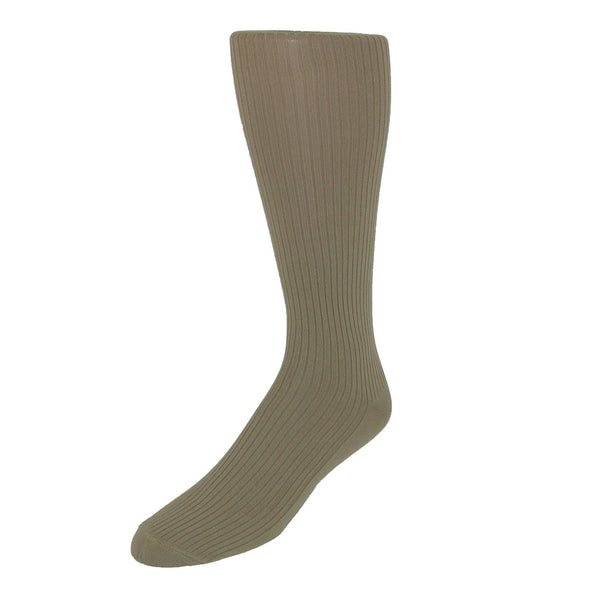 Men's Microfiber Over the Calf Dress Socks (2 Pair Pack)