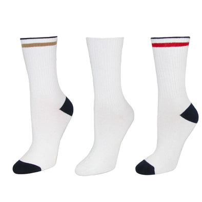 Kids' Cotton Seamless Toe Casual Crew Sock (Pack of 3)