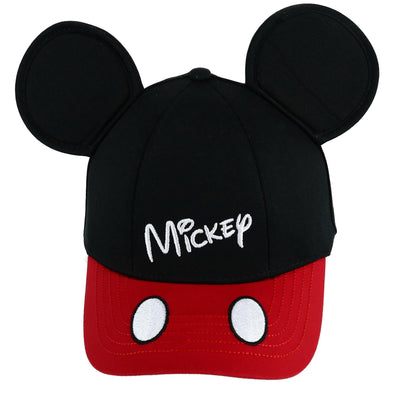 Disney Kids' Mickey Mouse Baseball Cap with 3D Ears