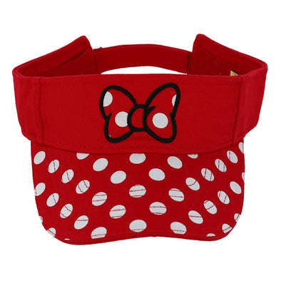 Disney Women's Minnie Mouse Polka Dot Visor