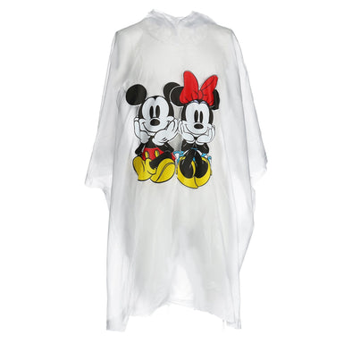 Mickey and Minnie Mouse Rain Poncho