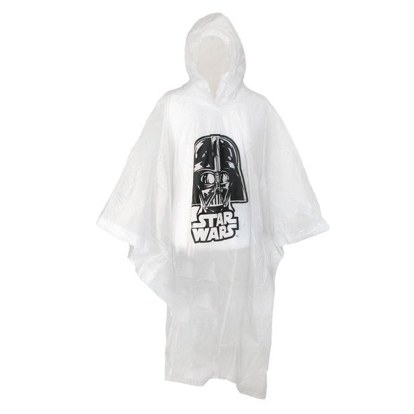 Adult Star Wars Darth Vader Clear Rain Poncho