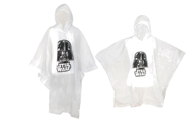Adult & Kids' Star Wars Darth Vader Poncho Set (Pack of 2)