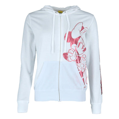 Junior's Minnie Mouse Zip Up Hoodie Jacket