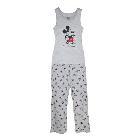 Mickey Mouse Women's Tank and Pant Pajama Set