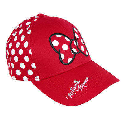 Women's Minnie Mouse Polka Dots Baseball Hat