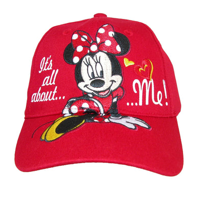 Girls' It's All About Me Minnie Mouse Baseball Cap