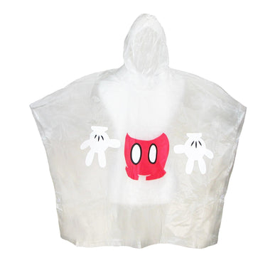 Kids'  Mickey Mouse Body Clear Rain Poncho