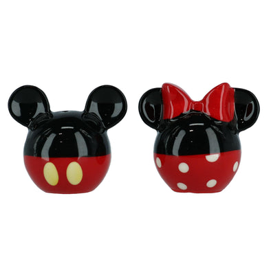 Disney Mickey and Minnie Mouse Ears Salt and Pepper Shakers