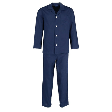 Men's Big and Tall Long Sleeve Pajama Set