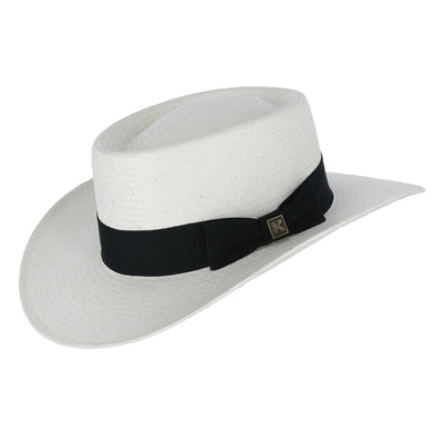 Men's Toyo Gambler Hat with Wide Band