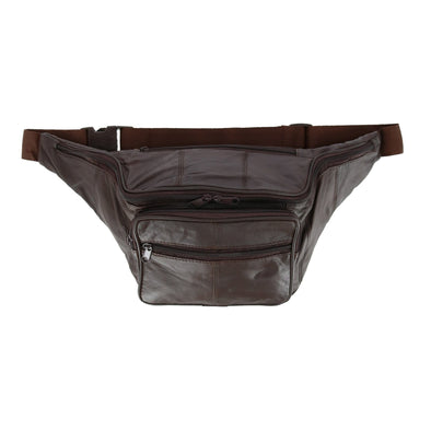 Leather Concealed Carry Fanny Waist Pack