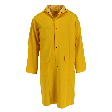 Men's Rain Coat with Detachable Hood
