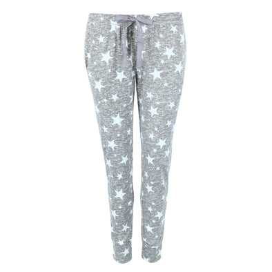 Women's Star Print Pajama Jogger Pants