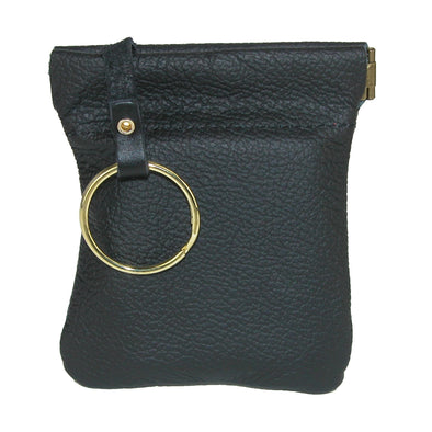 Men's Leather Key Case Coin Pouch Wallet