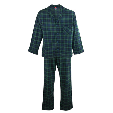 Men's Cotton Flannel Pajama Set