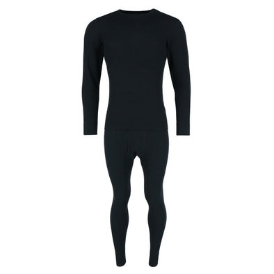 Men's Waffle Weave Thermal Long Underwear Top and Bottom Set