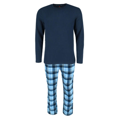 Men's Big and Tall X Temp Micro Fleece Pajama Set