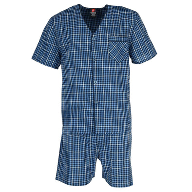 Men's Short Sleeve Short Leg Pajama Set