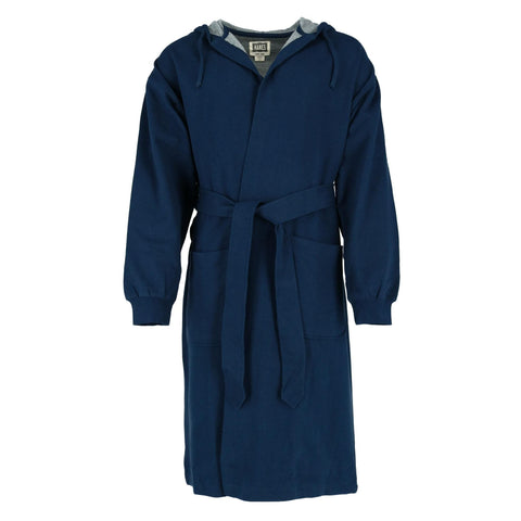Hanes Men's Athletic Fleece Hooded Robe
