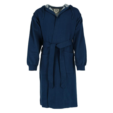 Men's Athletic Fleece Hooded Robe