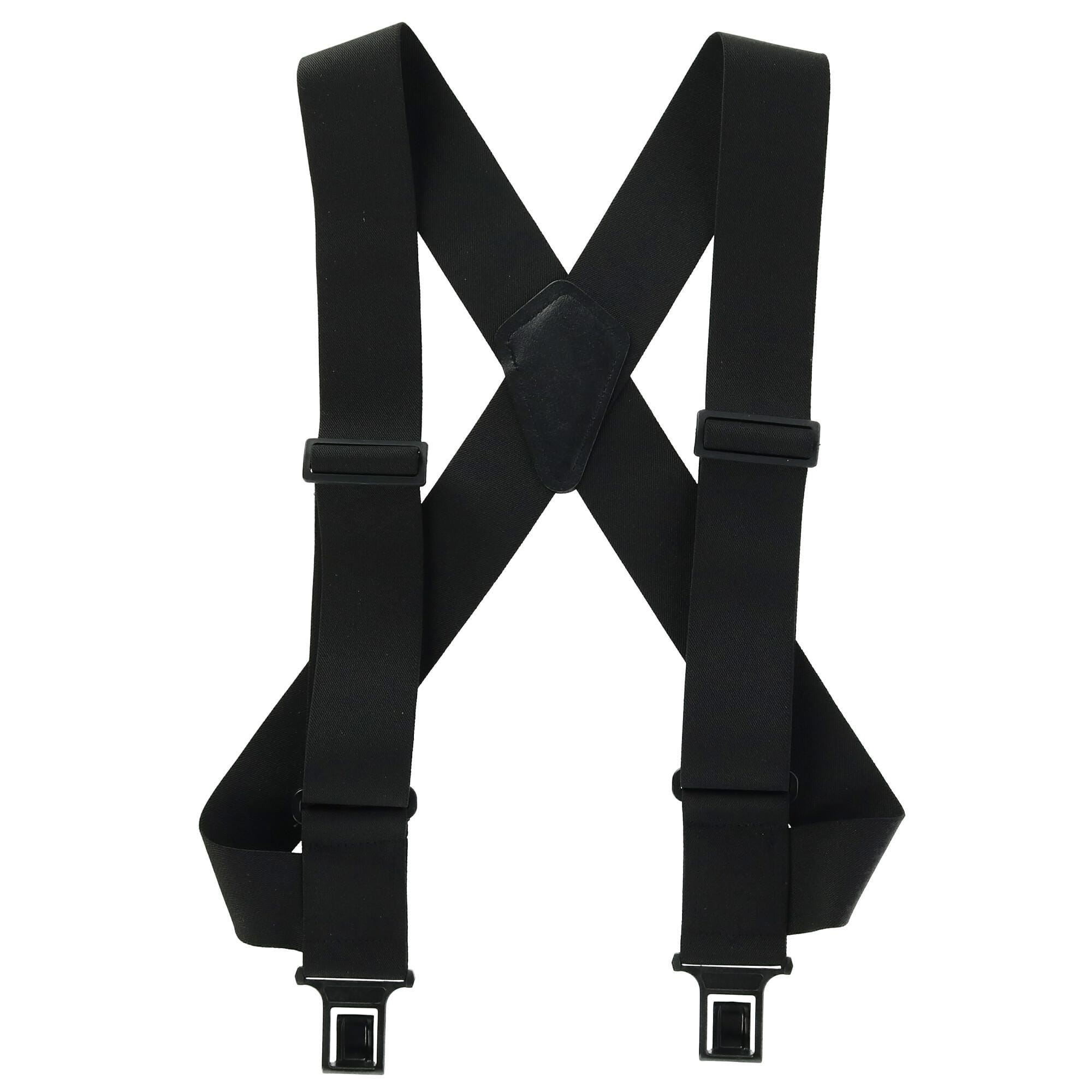 New Perry Men/'s Big /& Tall Elastic Outback Side Clip Trucker Suspenders