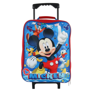 Kids' Mickey Mouse Rolling Luggage