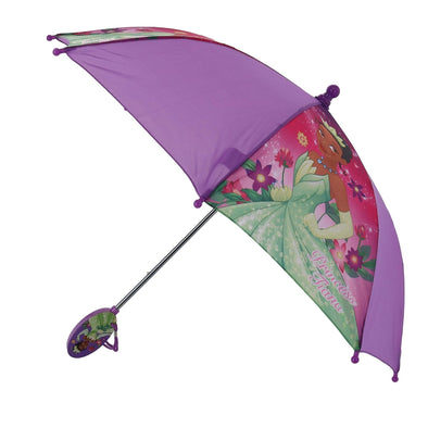 Kid's Princess Tiana Stick Umbrella with Clam Shell Handle