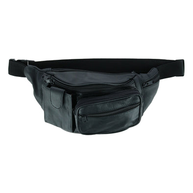 Phone Pocket Leather Fanny Waist Pack
