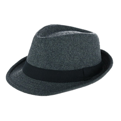 Kids' Winter Fedora with Black Band