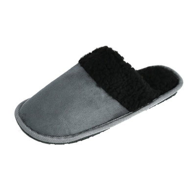 Men's Solid Color Slip on Slippers