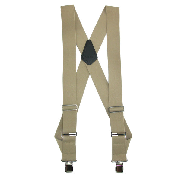 Men's Big & Tall Elastic Basic Trucker Side Clip Suspender