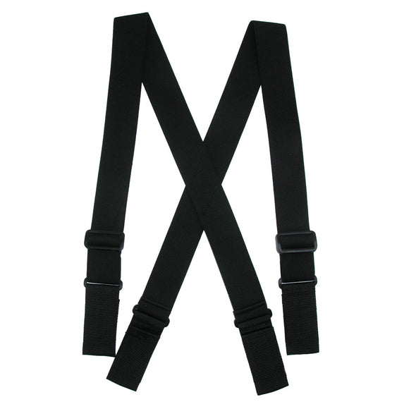 Men's Elastic Heavy Duty Ergonomic Support Suspenders with Hook & Loop Ends