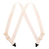 Men's Undergarment TSA Compliant Side Clip Airport Suspenders