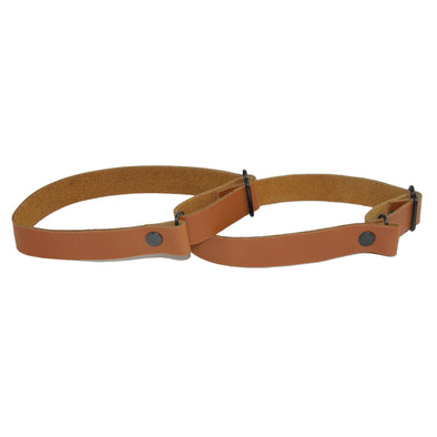 Men's Coated Leather Solid Color Adjustable Armband Sleeve Garter