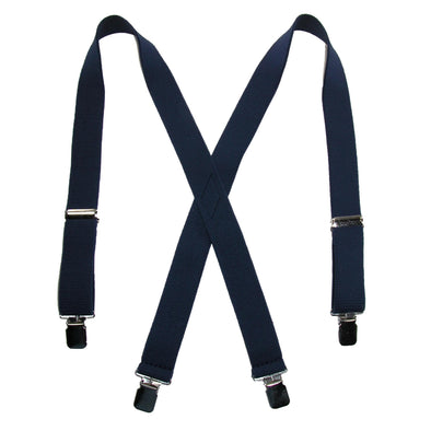 Men's Terry Casual Elastic Clip-End 1 1/2 Inch Suspenders