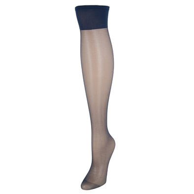 Women's Plus Size Nylon Sheer Knee High Socks (Pack of 2)