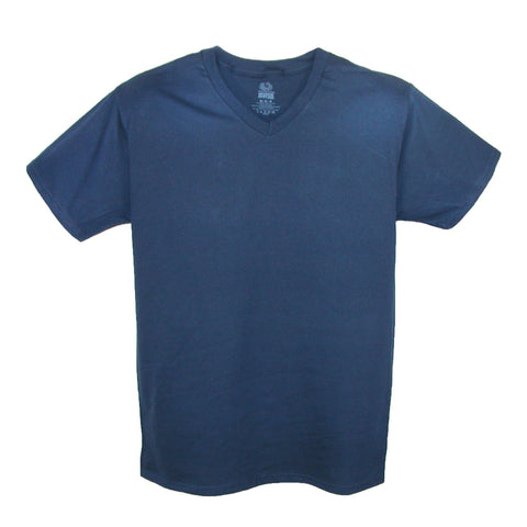 Men's V Neck Cotton T Shirt