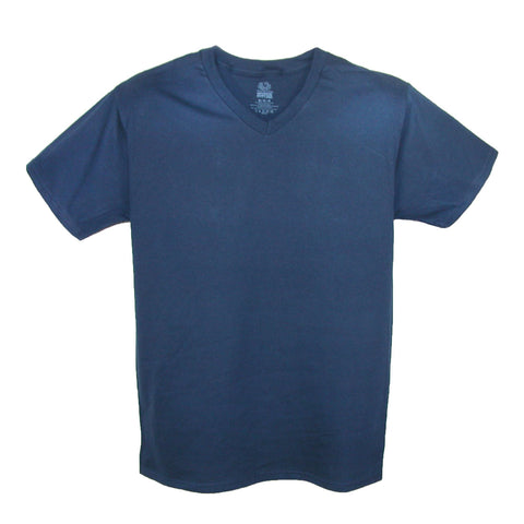 Big and Tall V Neck Cotton T Shirt