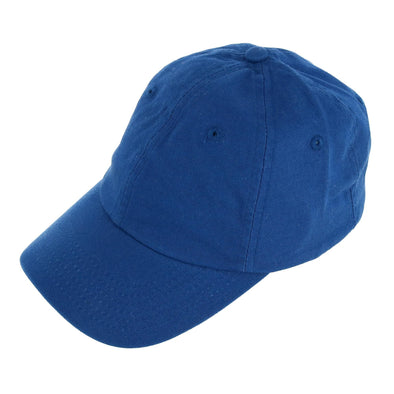 Kids' Cotton Twill Solid Color Summer Baseball Cap