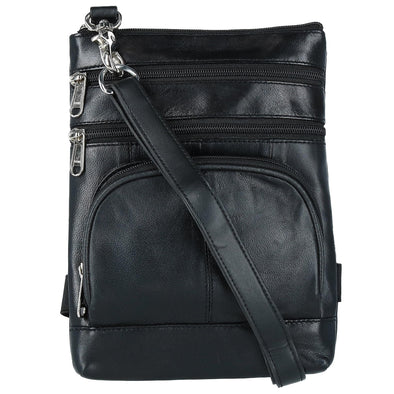 Leather Biker Hook Waist Belt Bag with Thigh Strap