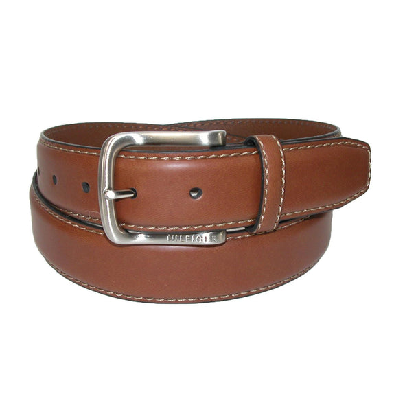 Men's Harness Buckle 35mm Stiched Edge Belt