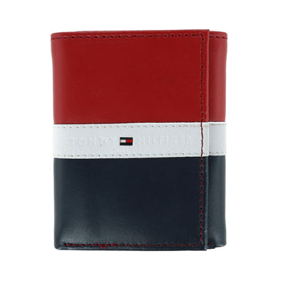 Men's Leather Americana RFID Extra Capacity Trifold Wallet